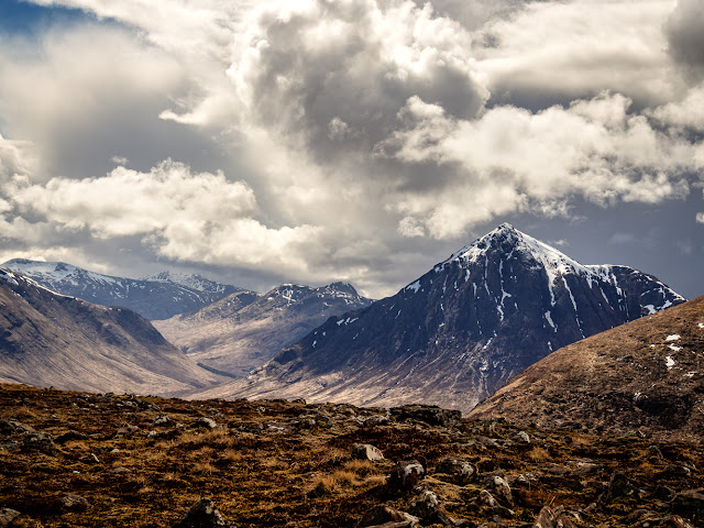Photo of Buachaille Etive Mor from Meall Bhalach