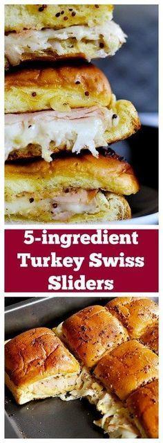 5-ingredient Turkey Sliders