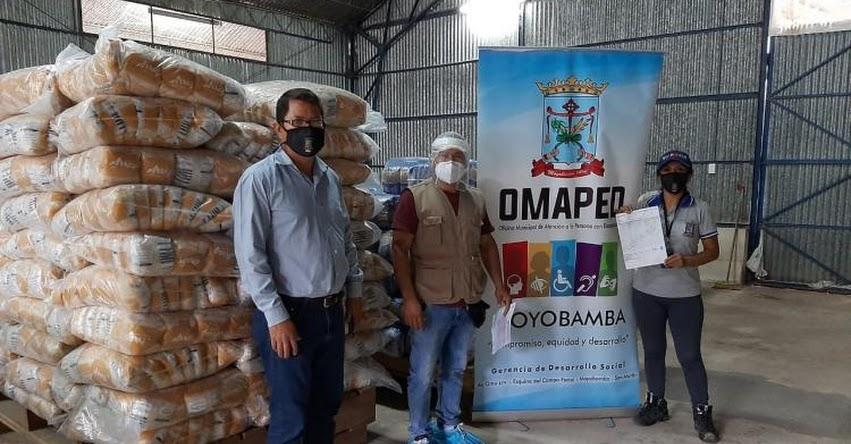 QALI WARMA: Municipalidades de Moyobamba y Elías Soplín Vargas reciben 29.5 toneladas de alimentos del programa social en la región San Martín - www.qaliwarma.gob.pe