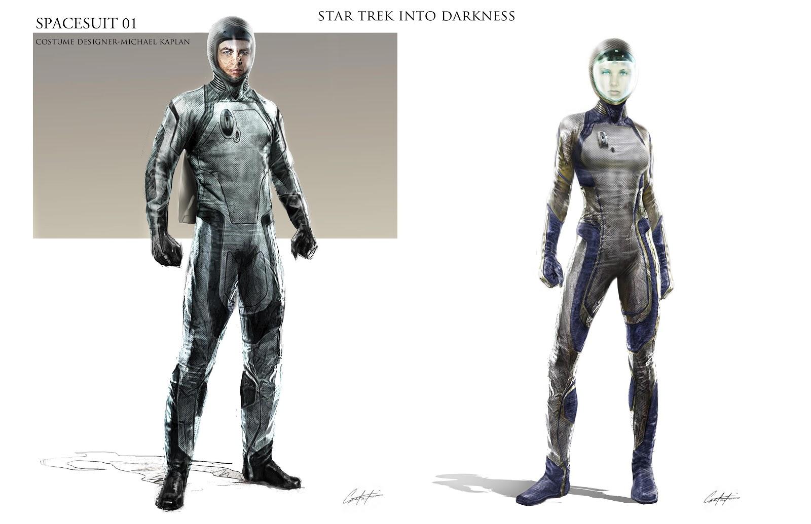 STAR TREK INTO DARKNESS Spacesuit, Klingon And Alien