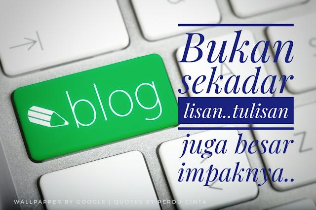 Cabaran Seorang Blogger