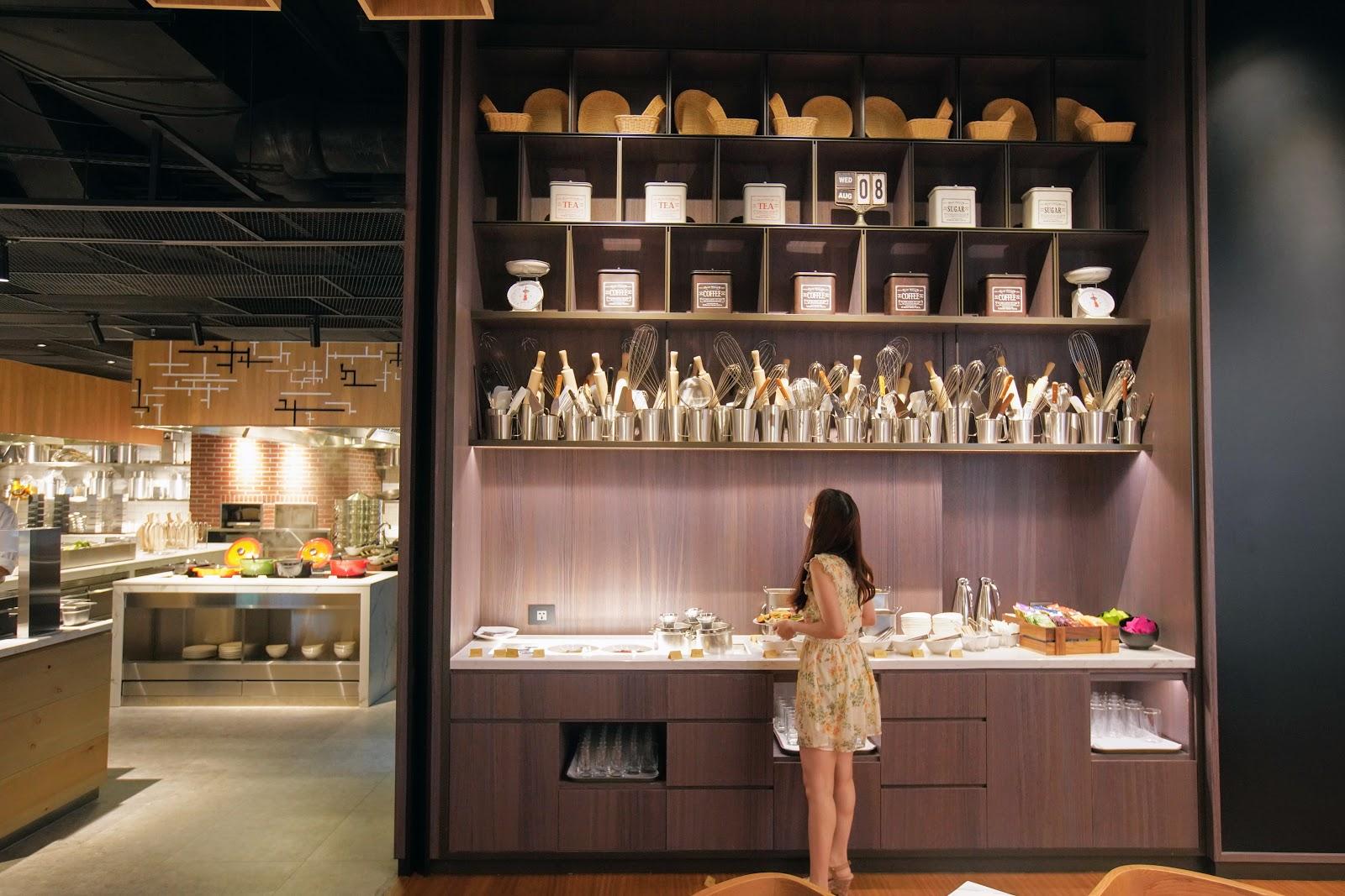 住宿|台北士林萬麗酒店 Renaissance Taipei Shihlin Hotel 早餐 士林廚房
