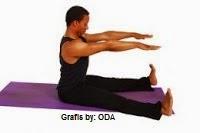 Forward Spine Stretch olahraga yang dapat meninggkan badan