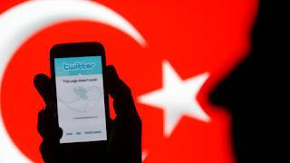 حجب مواقع التواصل الأجتماعي بتركيا
