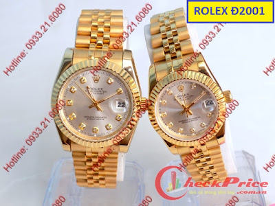 Đồng hồ đeo tay cặp đôi Rolex Đ2001