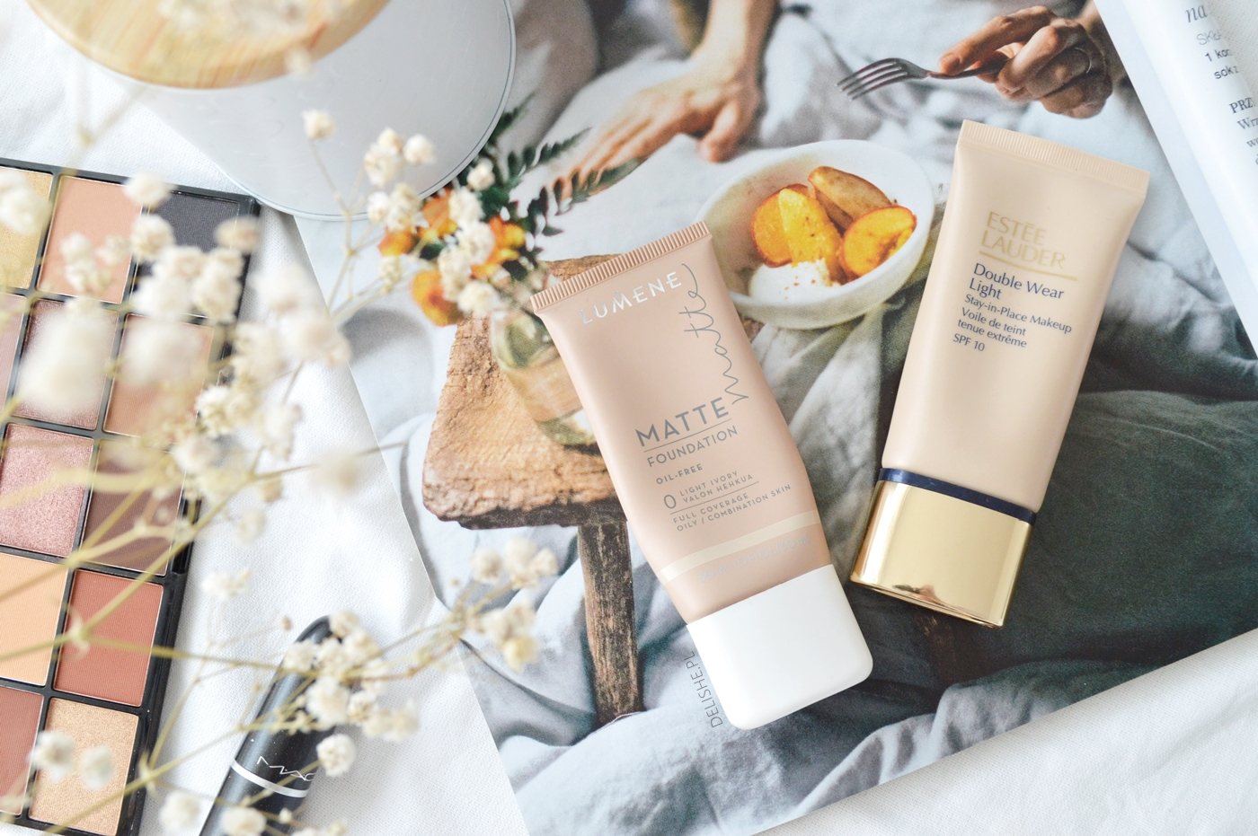 estee lauder double wear light and dupe