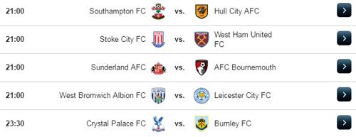 Jadwal Liga Inggris Sabtu 29 April 2017