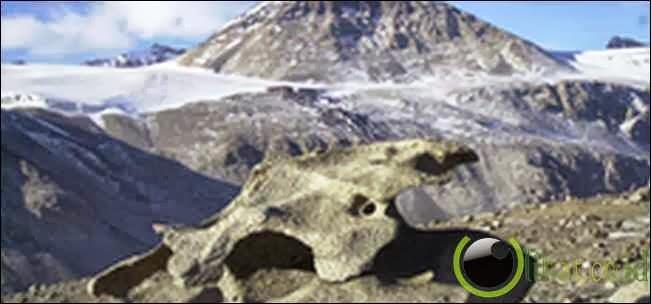 Lembah Misterius di Antartika
