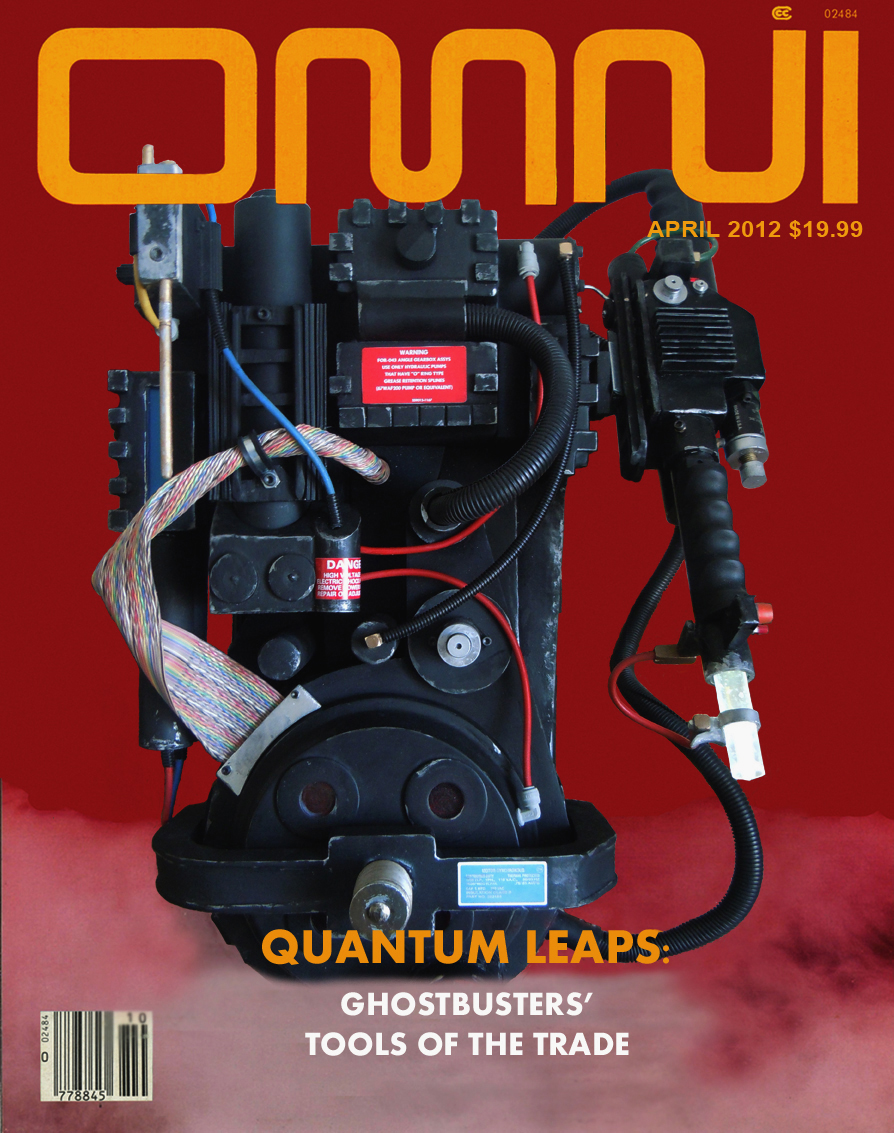 ghostbusters proton pack gun led