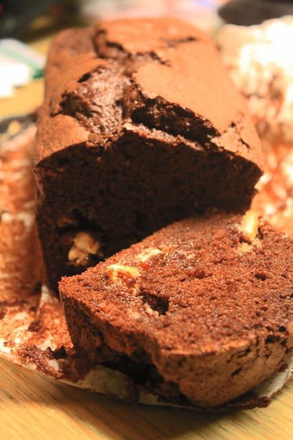 Cake ai due cioccolati e voglia di Natale.