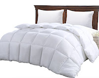 Queen Comforter Duvet Insert White by Utopia Bedding