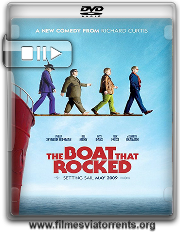 Os Piratas do Rock (The Boat That Rocked) Torrent - DVDRip Legendado (2009)