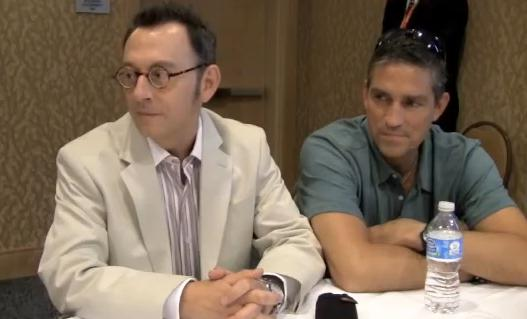 The Cast of Person of Interest at Comic Con - New Interviews - Pop