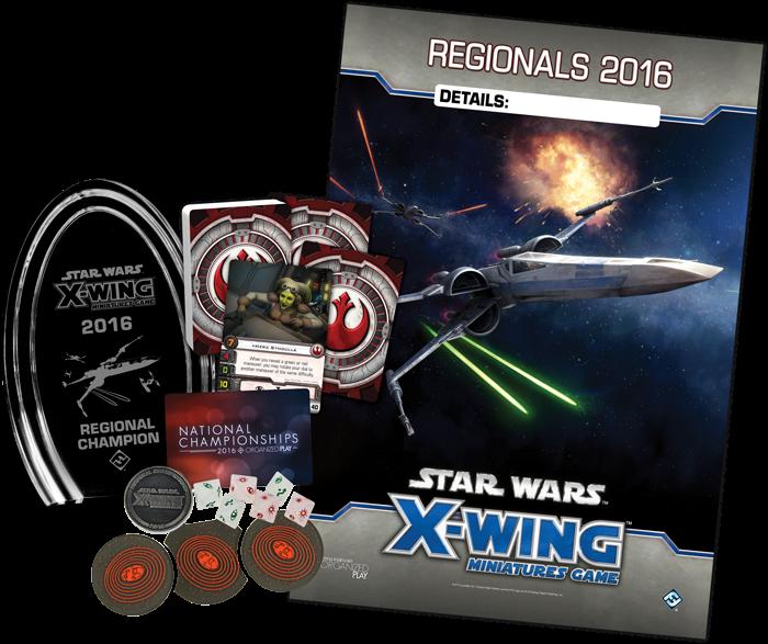 Kit Regional de X-Wing