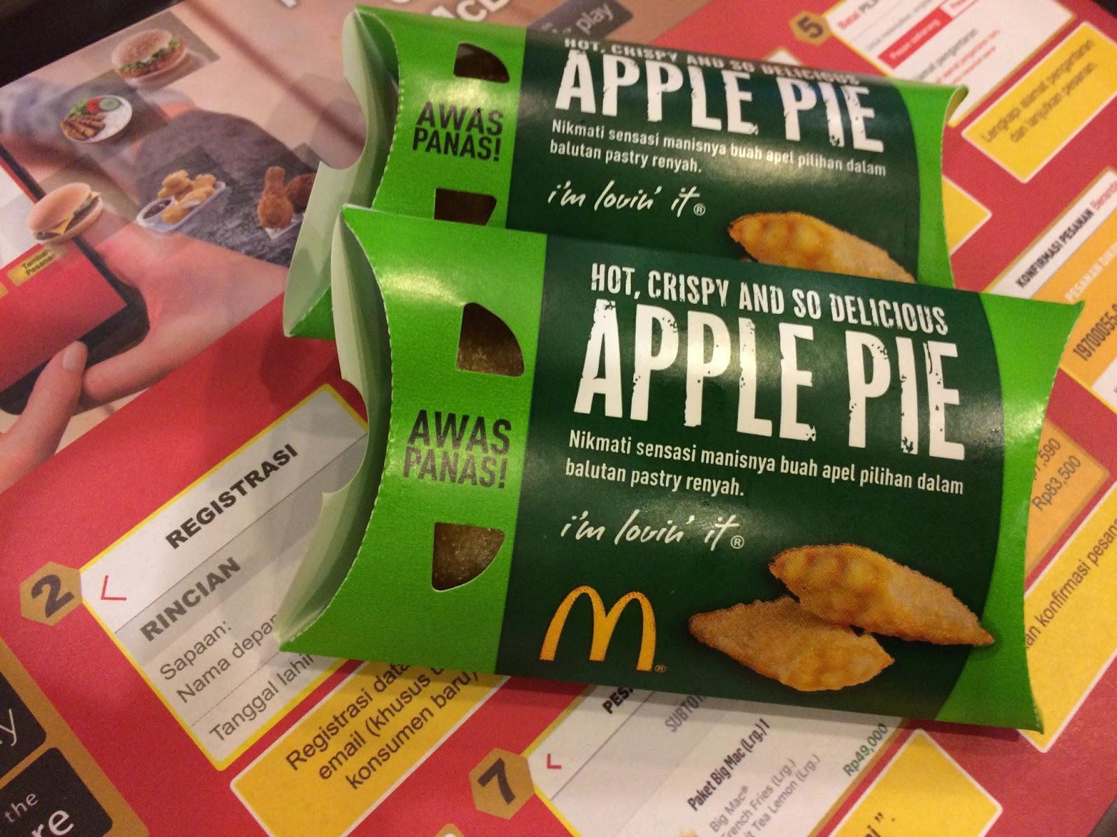Memberikan Gambaran Lelehan Isian Dalam Apple Pie Itu Maka Dari Tim Bufferdotcom Penasaran Sama Rasanya Apakah Bakal Seenak Gambarannya Di Iklan