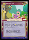 My Little Pony Picnic Lunch Premiere CCG Card