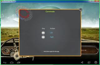 Bermain game Android di PC menggunakan Joystick