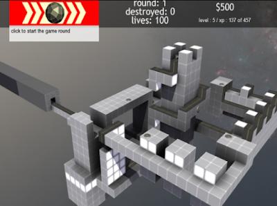 3D塔防(Terrorhedron),截然不同的新穎防禦遊戲!