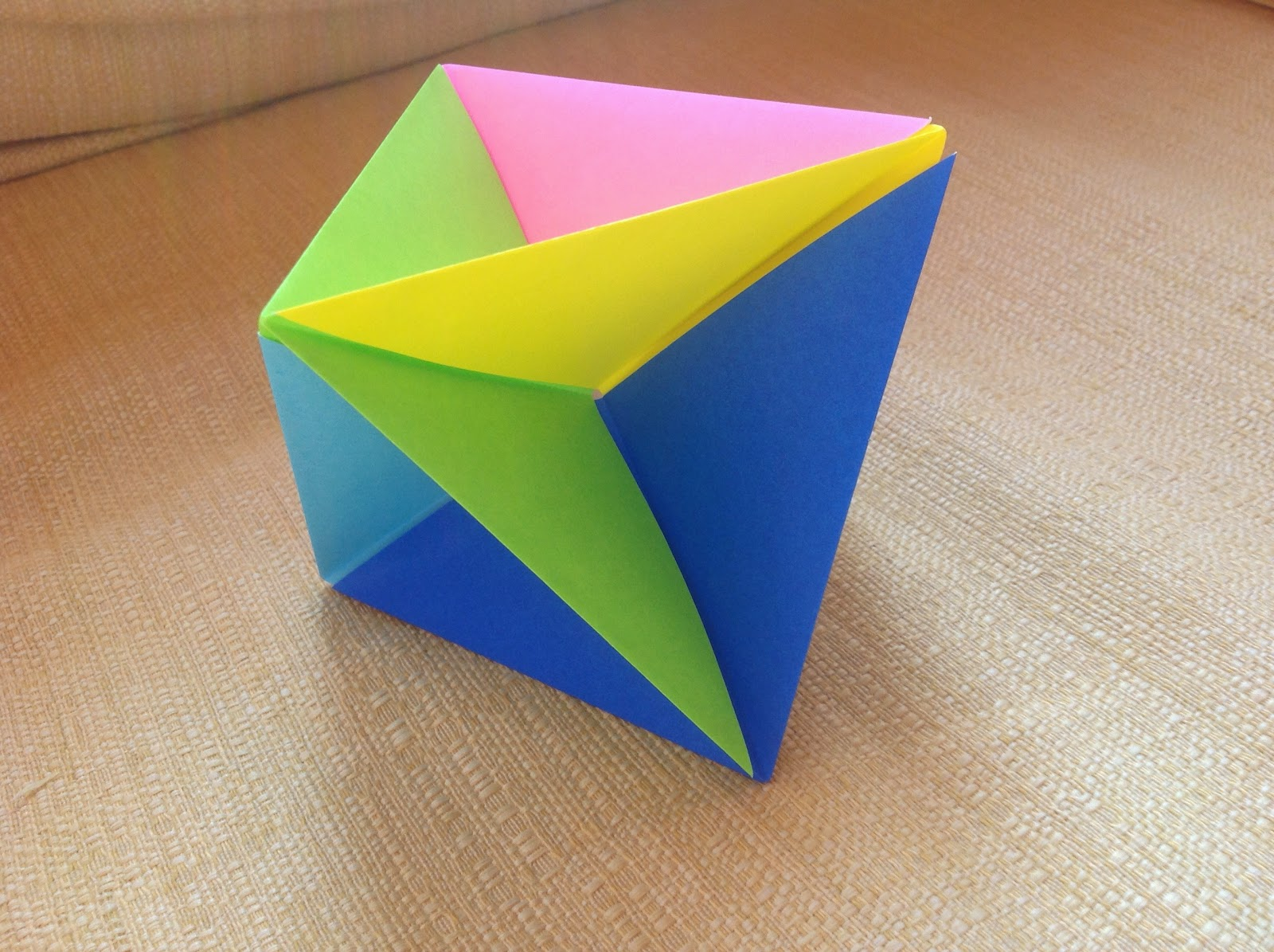 Papercrafts and other fun things: Origami Octahedron and ... - photo#20
