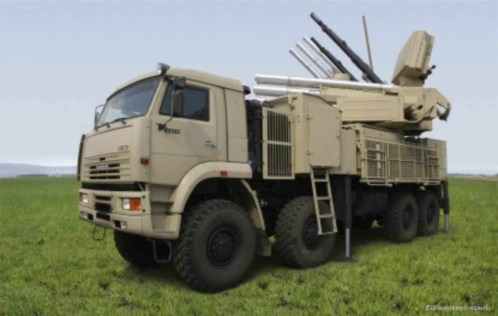 Ethiopia menunjukan sistem anti-pesawat Pantsir-S1