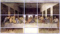 Goldener Schnitt in Leonardo da Vincis Abendmahl