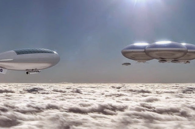 Vênus poderia ser habitar flutuante cidades nuvem em sua atmosfera.