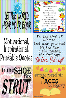 Make the world and your home a more positive place with these motivational and inspirational printable quotes.  There are so many inspirational quotes here that you'll be able to decorate any room or day of the week with a beautiful quote. #printablequote #inspirationalquote #diypartymomblog