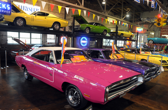 Tim And Pam Wellborn S Musclecar Museum Has A Cool Collection Of