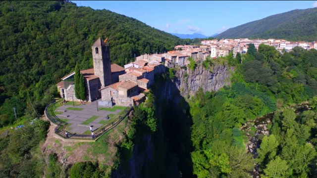 Castellfollit de la Roca, Desa Terindah di Spanyol