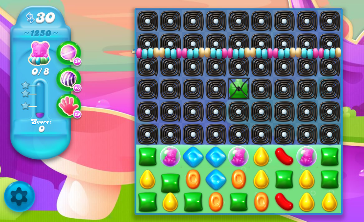 Candy Crush Soda Saga level 1250