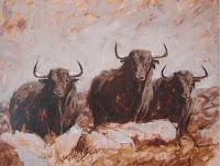 Resultado de imagen de toros pintados