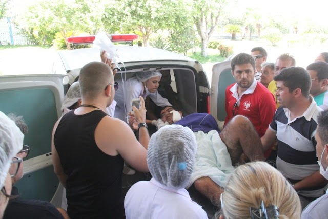 Candidato a vice-prefeito em Cariús sofre atentado a bala