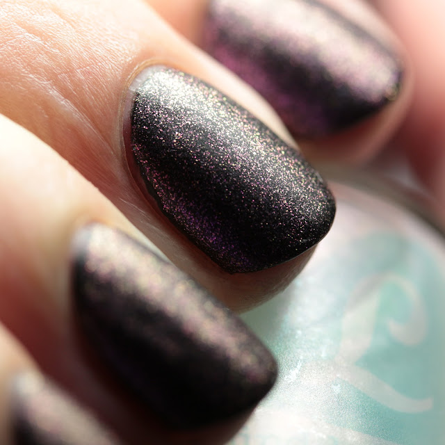 Bluebird Lacquer Nudge Nudge over Dark Matter