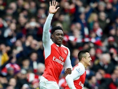 Danny Welbeck của Arsenal cũng được gọi tập trung ở đội tuyển quốc gia