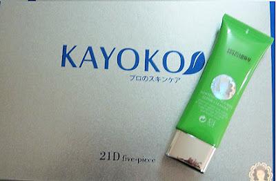 Bộ mỹ phẩm Kayoko sữa rửa mặt giúp làm trắng, chống nám da