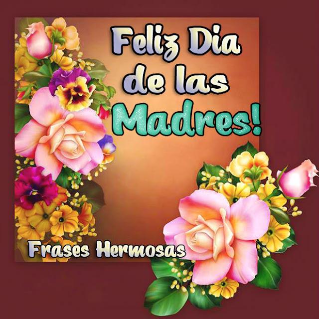 Tarjeta de feliz dia de las Madres