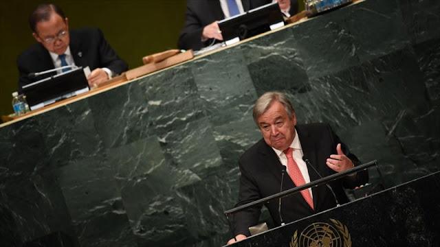 Nuevo secretario general de la ONU promete combatir el terrorismo