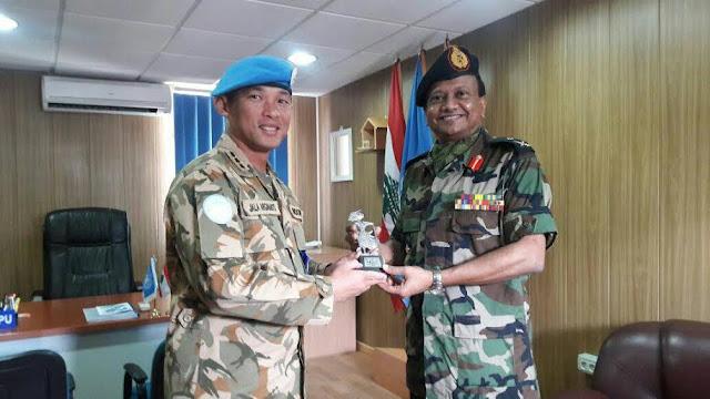 Jenderal Srilanka Kunjungi Markas Besar Unifil