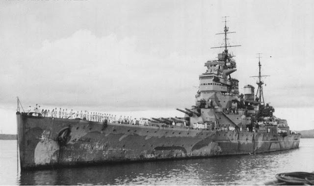 HMS Prince of Wales, 12 August 1941 worldwartwo.filminspector.com