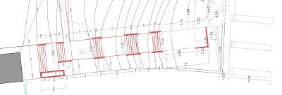 plan trepte gradina, proiect amenajare gradina, trepte, gradina in panta, trepte in gradina, teren in panta
