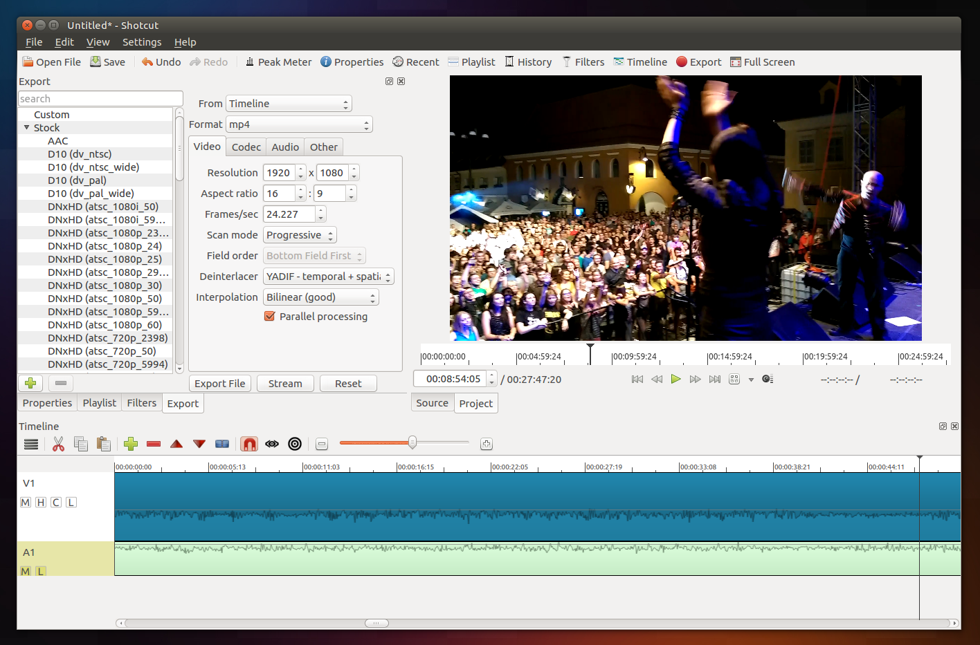 Shotcut Video Editor Available As A Snap Package [Quick