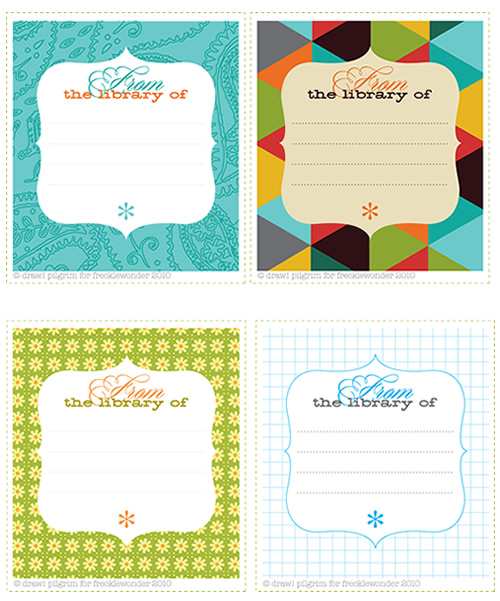 free printable bookplates templates - grab me a giveaway free this book belongs to printable
