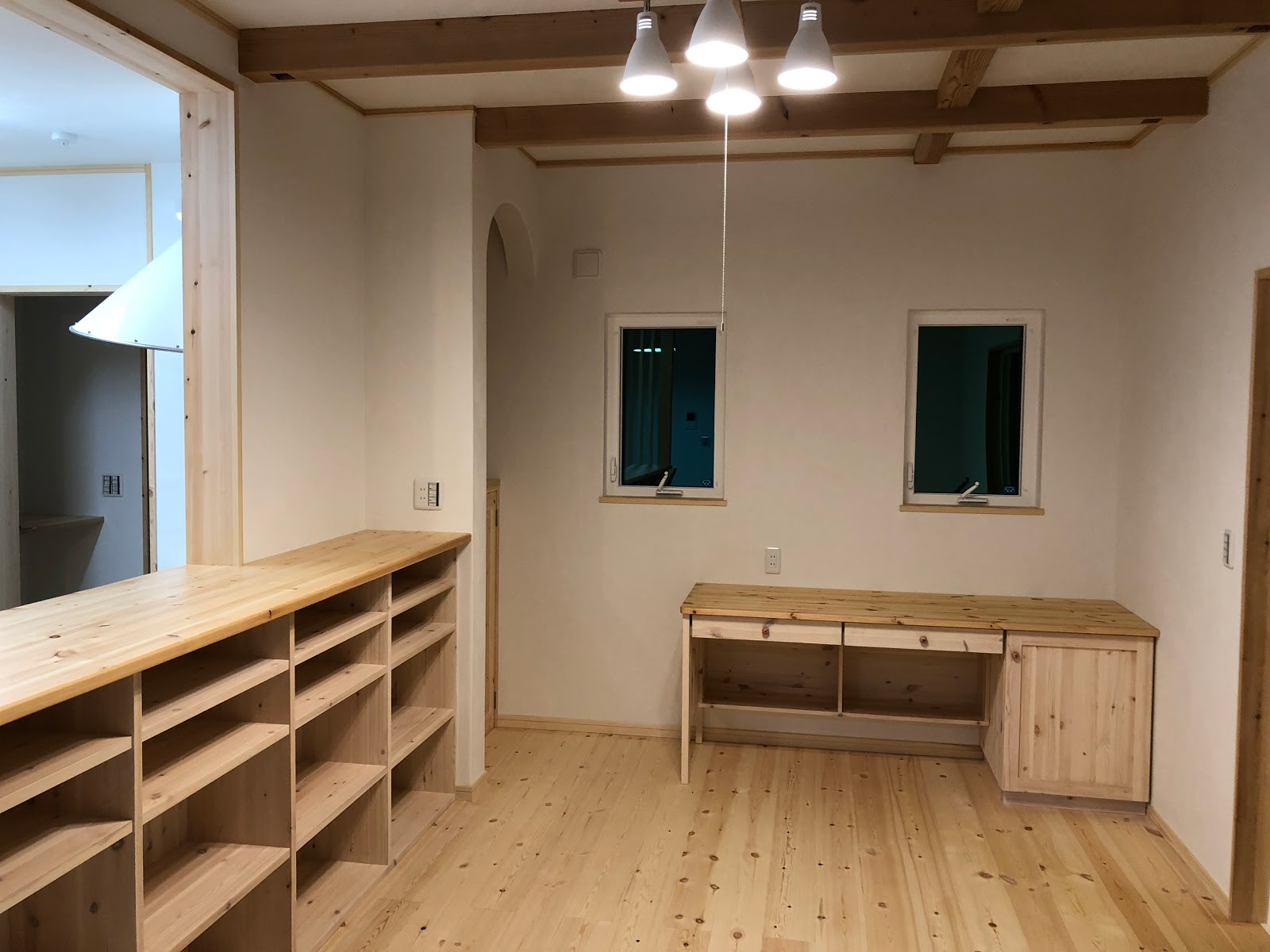 家庭用エアコン1台の全館空調・木の家・工務店・三重県鈴鹿市みのや
