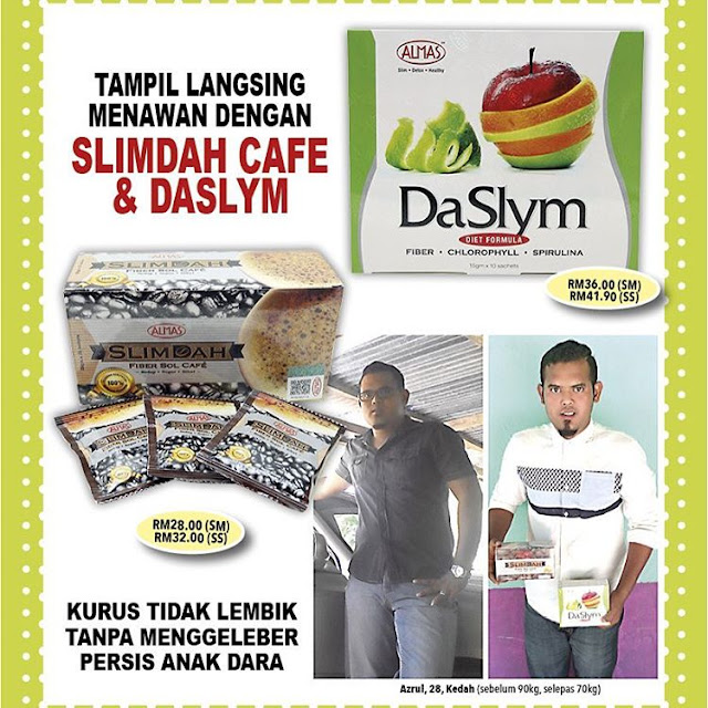 Testimoni Slimdah Fiber Sol Cafe Almas