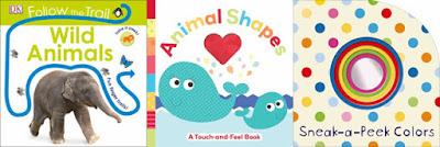 Wild Animals; Animal Shapes; Sneak-a-Peek Colors