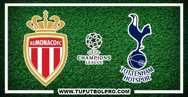 Ver Monaco vs Tottenham EN VIVO Por Internet Hoy 22 de Noviembre 2016