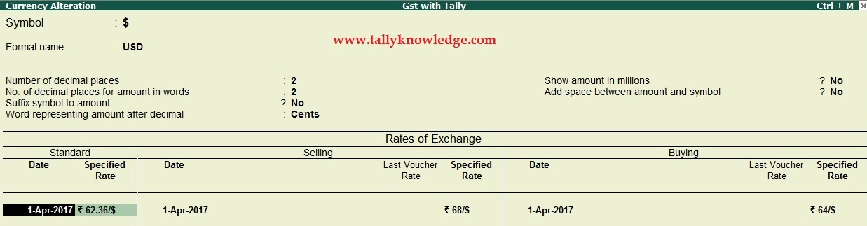 How to use Multi Currency in TallyERP9?