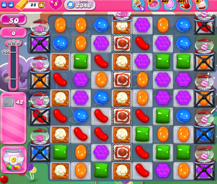 Candy Crush Saga level 2346