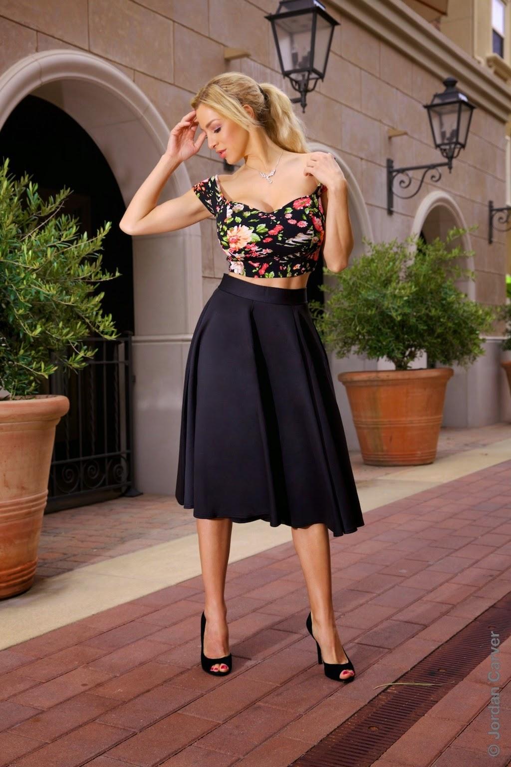 Jordan Carver Hot Gorgeous In Black Dress Big Boobs