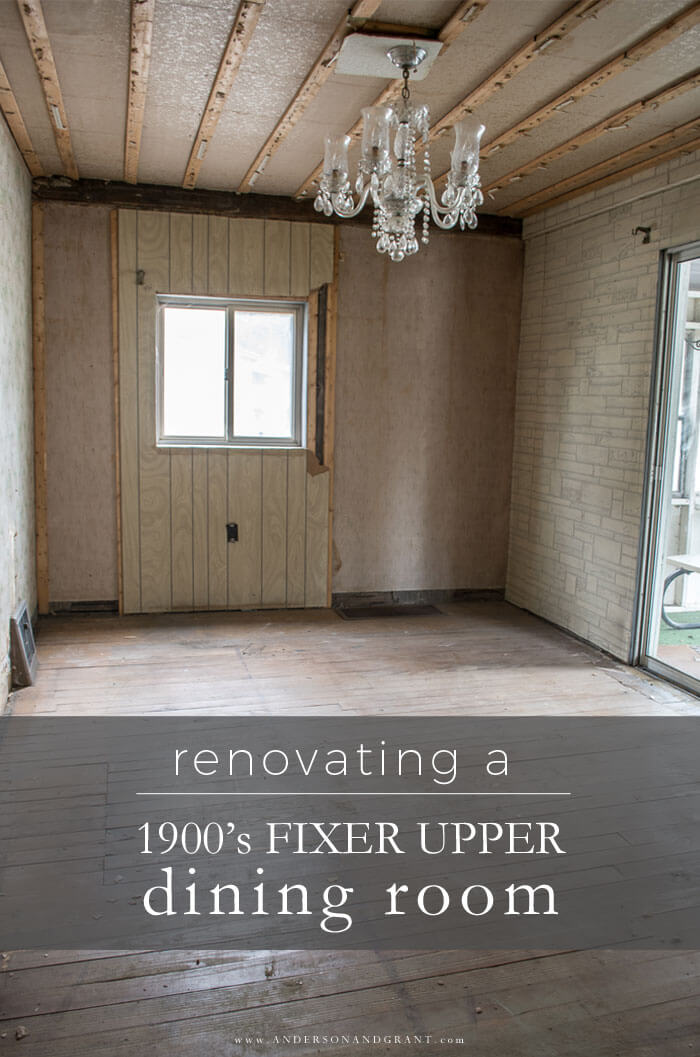 Fixer Upper Dining Room Reno